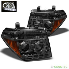 For Smoke Frontier Pathfinder Twin Halo LED Projector Headlights Head Lights