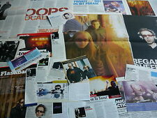 THE CHEMICAL BROTHERS - MAGAZINE CUTTINGS COLLECTION (REF Z18)