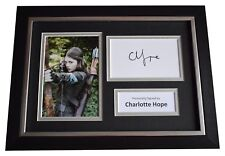 More details for charlotte hope signed a4 framed autograph photo display game of thrones coa