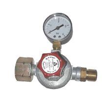 Mitteldruck-Regler 14 kg/h, einstellbar von 0,5 - 4 bar mit Manometer