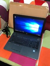 "HP ZBook 15 15.6"" Laptop Core i7-6700HQ 2.6GHz - 16GB - 512SSD W / Win 10 Pro"
