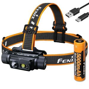 Fenix HM70R 1600 Lumen USB-C Rechargeable Headlamp with Red LED