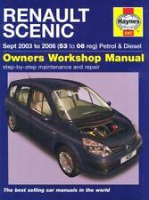 Renault Scenic Petrol and Diesel Service and Repair Manual: 2003 to 2006 (Hayne