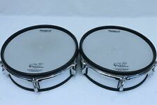 """TWO Roland PD-125 WT V Drum 12"""" Mesh Head PD125 VDrum for TD 105 20 120 30 12 10"""