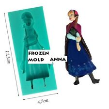 STAMPO IN SILICONE ANNA FROZEN 3D