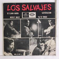 LOS SALVAJES: Se Llama Maria + 3 45 (Spain, PS, tol) Rock & Pop