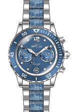 Invicta Women's Angel Quartz Multifunction Light Blue Dial Watch 24704