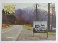 Twin Peaks Gold Box Postcard #1 of 61 -  Welcome to Twin Peaks 2007