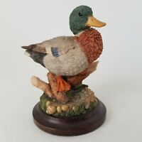 Vintage Country Artists Rivers Edge Mallard Duck CA931G 1996 Birds Boxed :B12