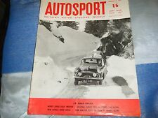 MONTE CARLO RALLY 1959 SUNBEAM RAPIER RONNIE ADAMS WOLSELEY ALEX MITCHELL MELVIN