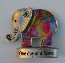 e One day at a time aa Lucky Elephant Figurine miniature Ganz