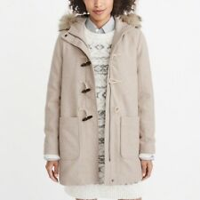 Abercrombie Wool Duffle Coat - Large