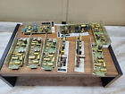 Lot of 9 McCurdy Mic preamp card units microphone broadcast control board AT284