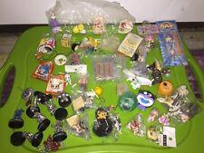 Various Series Japan Anime Mini Figure & Keychain Lot of Many Gundam Mario More