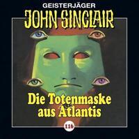 "Angebot! HÖRSPIEL CD * JOHN SINCLAIR ""Die Totenmaske aus Atlantis"" 116 * NEU/OVP"