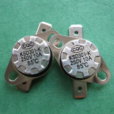 2pcs KSD301 85°C / 185°F Degree Celsius N.O. Temperature Switch Thermostat