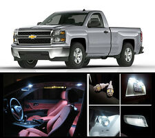 2010 - 2015 Chevrolet Silverado Premium White LED Interior Package (12 Pieces)