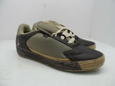 Run Athletic Men's Athletic Casual Shoe Brown Wood Size 12M