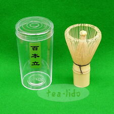 Bamboo Whisk : Chasen, Matcha Green Tea, Handmade: Ceremonial 100 prong prongs