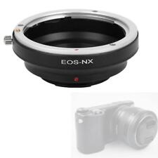 Black EOS-NX Adapter Ring for Canon EOS Mount Lens to for Samsung NX Camera Lens