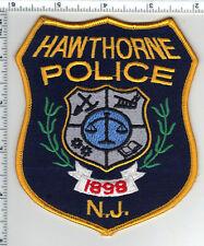 Hawthorne Police (New Jersey) dark background Shoulder Patch