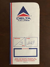 Vintage Delta  Air Lines Boarding Ticket Jacket Bundle - Great Condition!