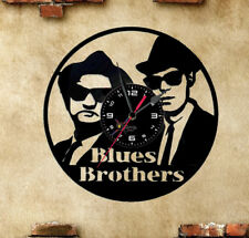 Orologio disco vinil clock orologio da parete  blues brothers