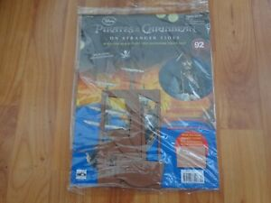 HACHETTE BUILD THE PIRATES OF THE CARIBBEAN BLACK PEARL SHIP ISSUE 92 INC PART