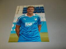 Sven Schipplock  HSV Hoffenheim  signiert signed Autogramm auf  20x28 Foto