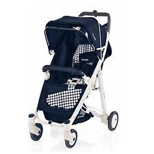 Baby pushchair buggy stroller Crystal 239 blu prussia Brevi