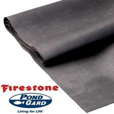 2.44m wide Firestone PondGard EPDM Rubber Pond Liner(1.02mm) - enter your length