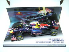 Minichamps Sebastian Vettel Red Bull RB8 Japanese GP Winner 2012 1:43
