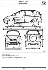 manuel atelier entretien reparation technique Renault Scenic RX4 - fr