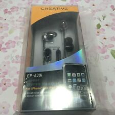 CREATIVE MEDIA Creative EP-630i earphone black with microphone EP-630i-BK JAPAN