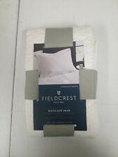 New listing New Fieldcrest Diamond Matelasse White 100% Cotton Standard Pillow Sham