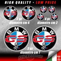 8 adesivi BMW DAKAR GS  R 1200 1250 800 moto stickers -  BMW00007M