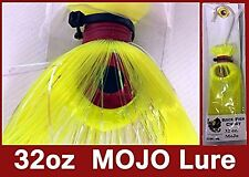 Blue Water Candy - Rock Fish Candy 32oz Cannonball Mojo Lure (Chartreuse)