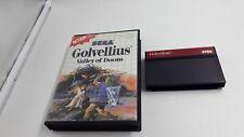 Jeu Sega Master System Golvellius Valley of Doom sans notice