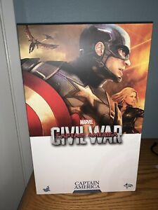 Hot Toys Captain America Civil War Marvel Figure MMS350 1/6