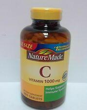 Nature Made Vitamin C 1000 mg 300 tabs Exp 07/21+ New