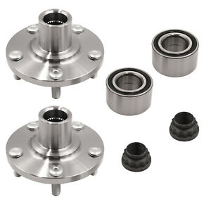 2x Front Wheel Hub & Bearing Set For Lexus ES330 ES350 Toyota Avalon Venza