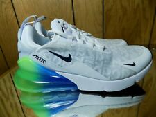 new concept 635f7 88336 Men s Nike Air Max 270 SE Casual White White Lime  Photo Blue AQ9164