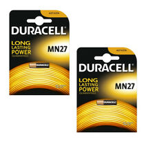 2 x DURACELL MN27 27A BATTERY ALKALINE 12V SECURITY BATTERIES A27 V27A L828