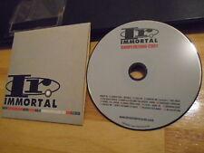 RARE PROMO Immortal sampler CD Thirty Seconds to Mars KORN Incubus Serj Tankian