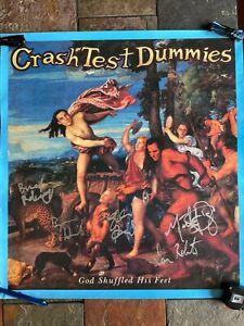 CRASH TEST DUMMIES SIGNED POSTER ITEM #5926