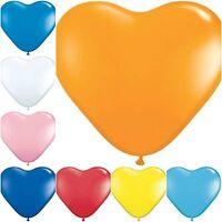 100 ❤ MIX LOVE* HEART BALLOONS*Wedding Party Romantic ballon Valentines Birthday