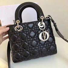 Dior Timeless Bag - Dior Lady Personalis Badges Black Lambskin New Fashion