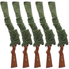 "5Pcs 54"" Hunting Shotgun Rifle Gun Sock Storage Case Bag Sleeve Sack with Scopes"