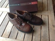 Men's Florsheim brown leather shoes size 10.5- Brand new in box RRP $170