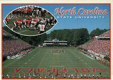 North Carolina State University at Raleigh, Wolfpack Football Stadium - Postcard